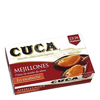 Cuca Mejillón en escabeche 12/16 piezas Lata de 69 g