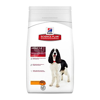 Hill's Science Plan Pienso para perros adultos medianos Hills Science Plan Advance Fitness pollo 2,5 Kg