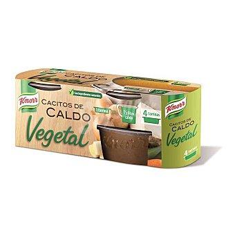 Knorr Caldo verduras cacitos 4x28 grs