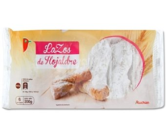 Auchan Lazos de Hojaldre 200 Gramos