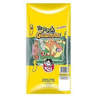 Risi Gusanitos sin gluten Pack 6 x 18 g