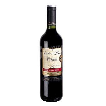Señorio de Los Llanos Vino tinto crianza D.O. Valdepeñas  Botella 75 cl
