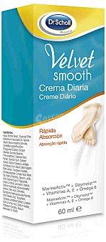 Scholl Crema hidratante diaria para pies Velvet Smooth 60 ml