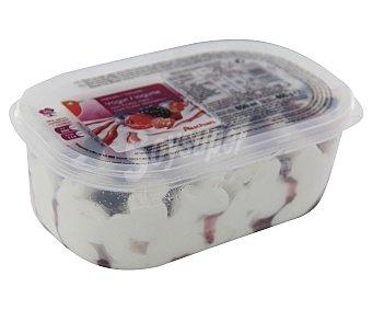 Auchan Helado de yogur con frutas del bosque Tarrina de 850 mililitros
