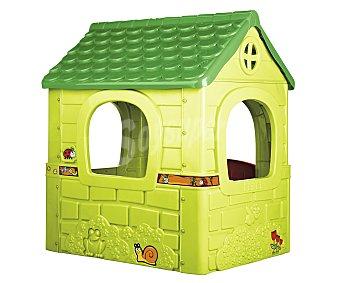 FEBER Casita para jardín, modelo Fantasy House 1 Unidad