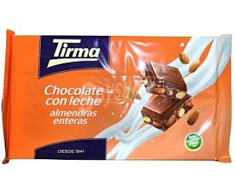 Tirma Chocolate con leche y almendras 300g