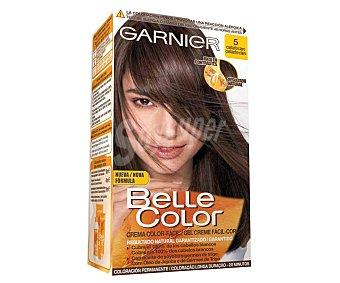 Belle Color Garnier Tinte de pelo color castaño claro, tono 005 Belle color