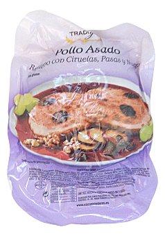 Tradigust Comida preparada pollo relleno ciruela,pasas y nueces u - 1 Kg
