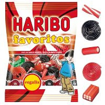 Haribo Haribox favoritos regaliz Bolsa 210 g