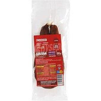 Eroski Chorizo extra dulce 250 g