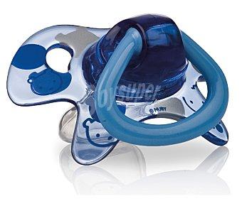 New valmar Chupete ortodontico de 6-18 meses color azul 1 unidad