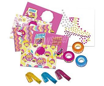 Disney Taquilla triple deluxe Soy Luna con accesorios 1 unidad