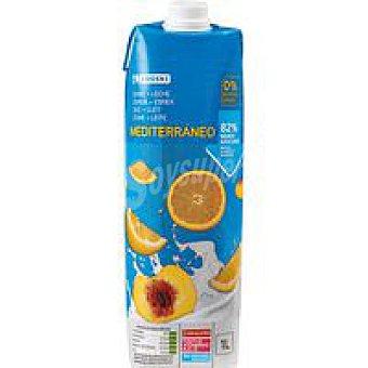 Eroski Lactozumo Mediterráneo Brik 1 litro
