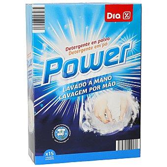 DIA Detergente polvo para lavar a mano Caja 600 g