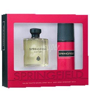 Springfield Estuche Colonia 100ml + desodorante spay 150ml. 1 ud