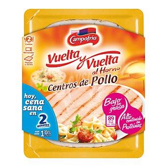 Campofrío Vuelta y vuelta de pollo al horno Bandeja 210 g