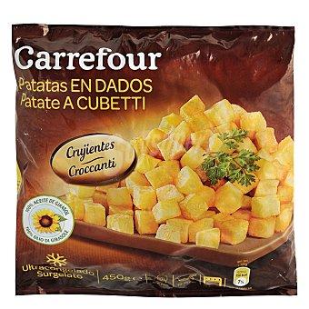 Carrefour Patatas en dados 450 g