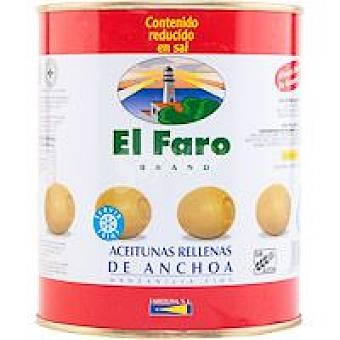 El Faro Aceitunas rellenas de anchoa Lata 800 g