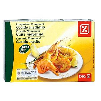 DIA Langostino cocido mediano 48/64 caja 800 gr 800 gr