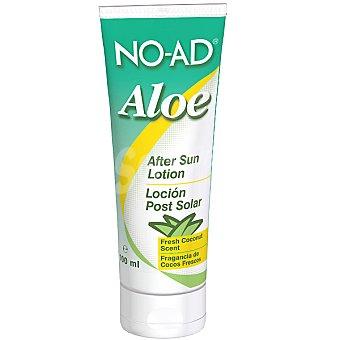 NO-AD After sun loción Aloe para después del sol fragancia de cocos frescos Tubo 100 ml