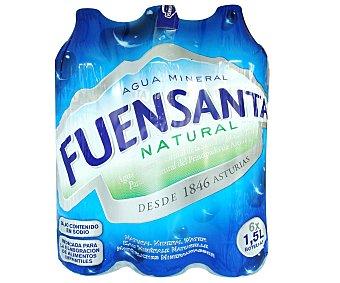 Fuensanta Agua mineral Pack 6 x 1.5 l