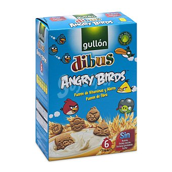 Gullón Galletas Dibus Angry Birds Caja 250 g