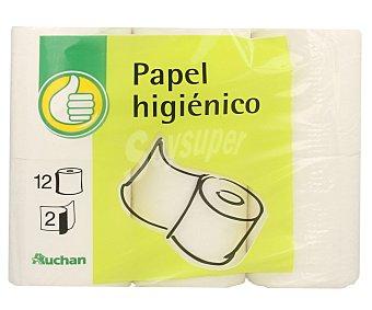 Productos Económicos Alcampo Papel Higiénico 2c 12 rollos