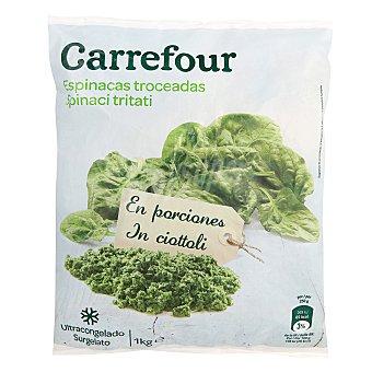 Carrefour Espinacas cortadas 1 kg