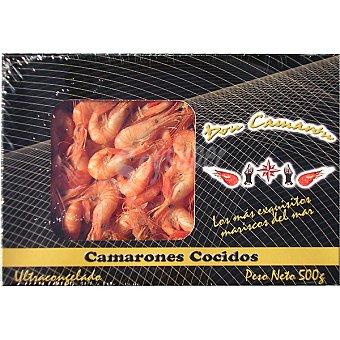 DON CAMARON Camarones cocidos pequeños Estuche 500 g neto escurrido