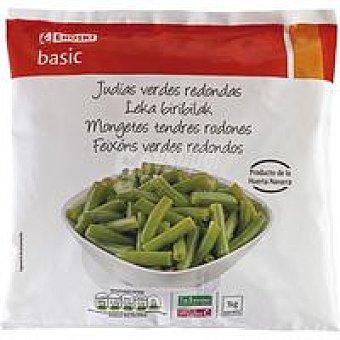 Eroski Basic Judía verde redonda Bolsa 1 kg