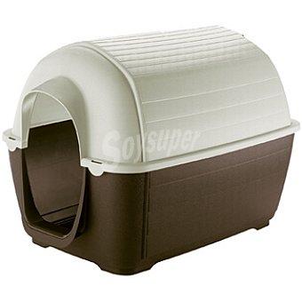 FERPLAST KENNY Caseta de plástico para perro desmontable tamaño mediano medidas 100x70x70 cm 1