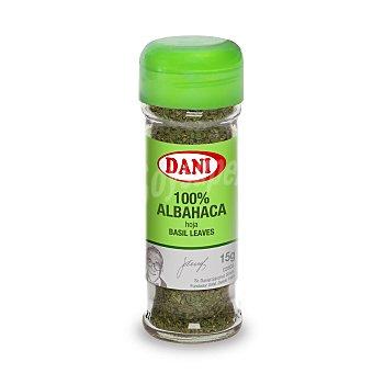 Dani Albahaca hojas Frasco de 15 g