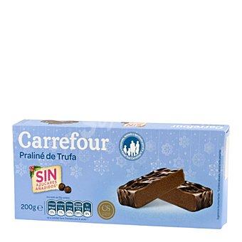 Carrefour Praliné de trufa sin azúcares añadidos 200 g