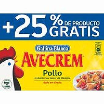 Gallina Blanca Caldo de pollo Avecrem Caja de 12+3 unidades