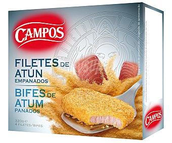 Campos Filetes de Atún empanados 320 g