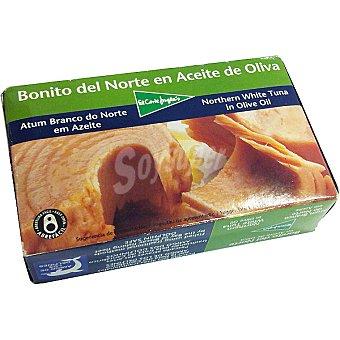 El Corte Inglés Bonito del norte en aceite de oliva Lata 82 g neto escurrido