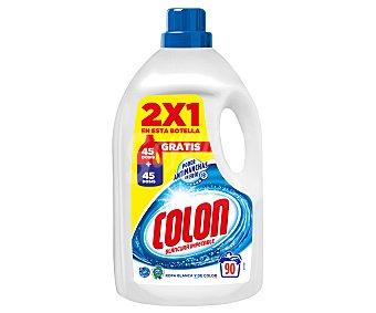 Colón Detergente en gel para lavadoras (ropas blancas y de color) 4,68 l
