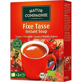 Natur Compagnie Sopa instantanea de tomate Bio ecologica caja 79 g 79 g