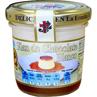 La Ermita de San Pedro Flan de chocolate blanco envase 110 g