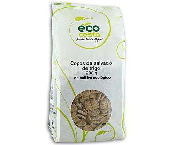 Ecocesta Copos de salvado de trigo ecológico 200 gramos