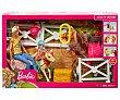 Muñeca Y chelsea con caballos y accesorios Barbie