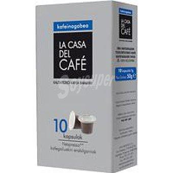 CASA del CAFÉ Café descafeinado Colombia La Pack 10x5 g