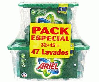 Ariel Detergente Concentrado Tabs Regular 47d