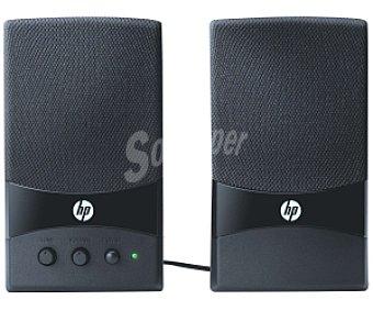 HP GL313AA Altavoces 2.0, Potencia 2w (rms), Controles de Volumen y Tono, Conexión por Usb, 2.0