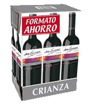 Don Luciano Vino tinto crianza D.O. Mancha pack de 6x75 cl