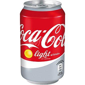 Coca-Cola Coca Cola Light al Limón Lata 33 cl. 1 ud