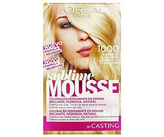 Sublime L'Oréal Paris Tinte Rubio Muy Claro Nº 1000 1 Unidad