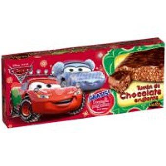 Lacasa Turrón de chocolate Cars Caja 200 g