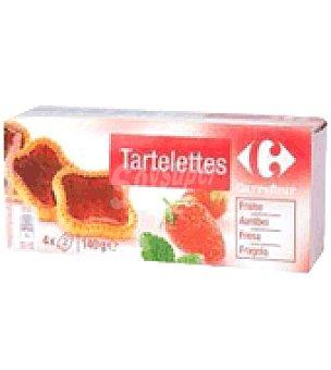 Carrefour Tartaleta fresa 140 g