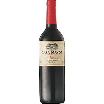 CasaMayor Vino tinto crianza D.O. Rioja elaborado para grupo El Corte Inglés Botella 75 cl